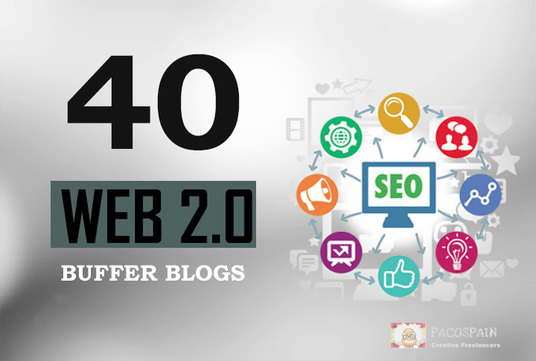 Manually Create 40+ DA Dofollow High Quality Web2.0 Blogs