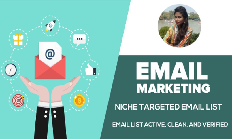 I will Collect niche-targeted verified email list for email marketing