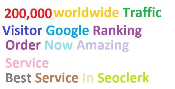 Top & Best Service 200,000 Worldwide Targeted Traffic Facebook, YouTube, Instagram, LinkedIn, twitter