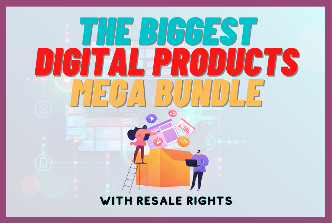 Biggest Digital Products Bundle
