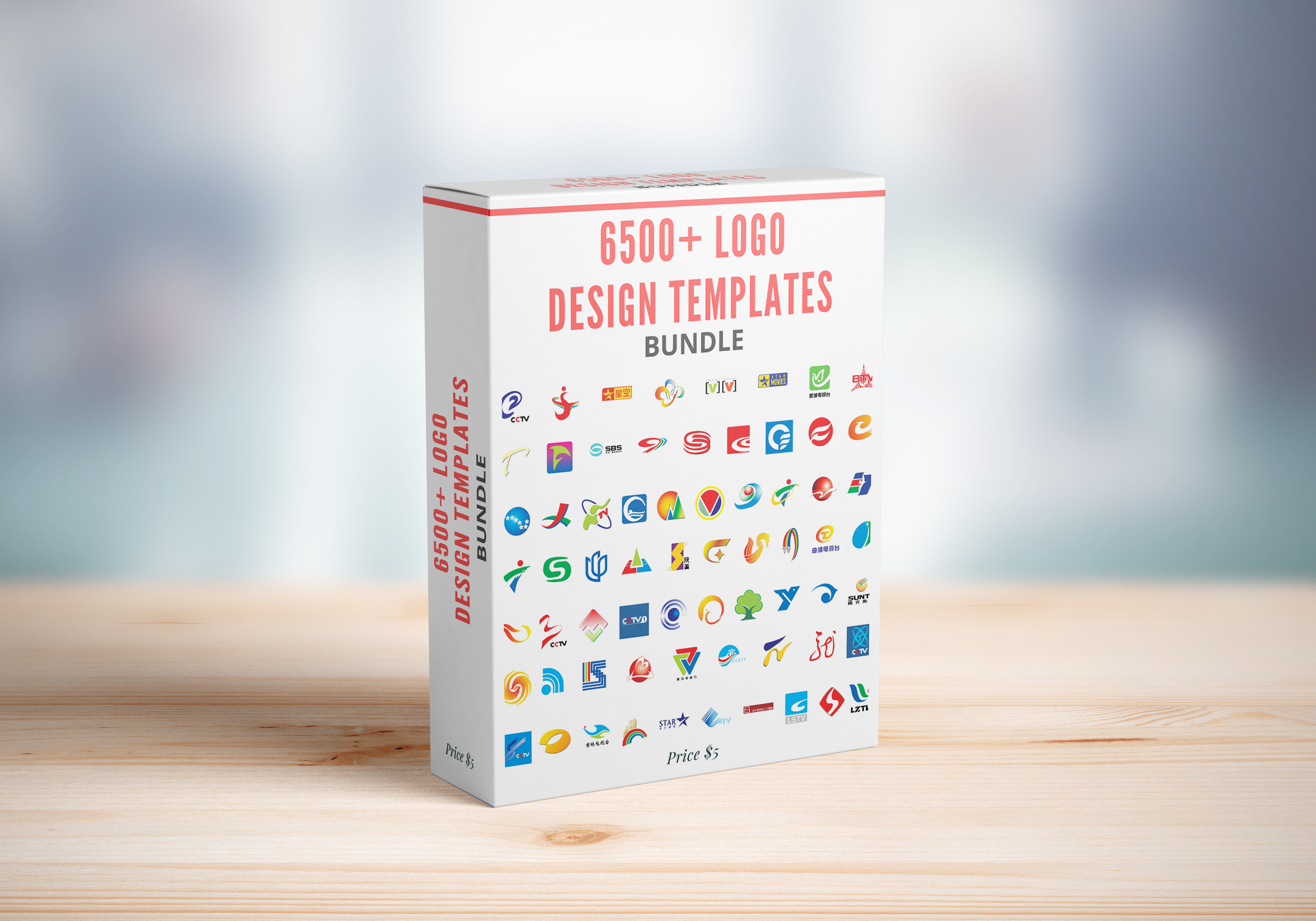 I Will Give You 6500+ Logo Design Templates