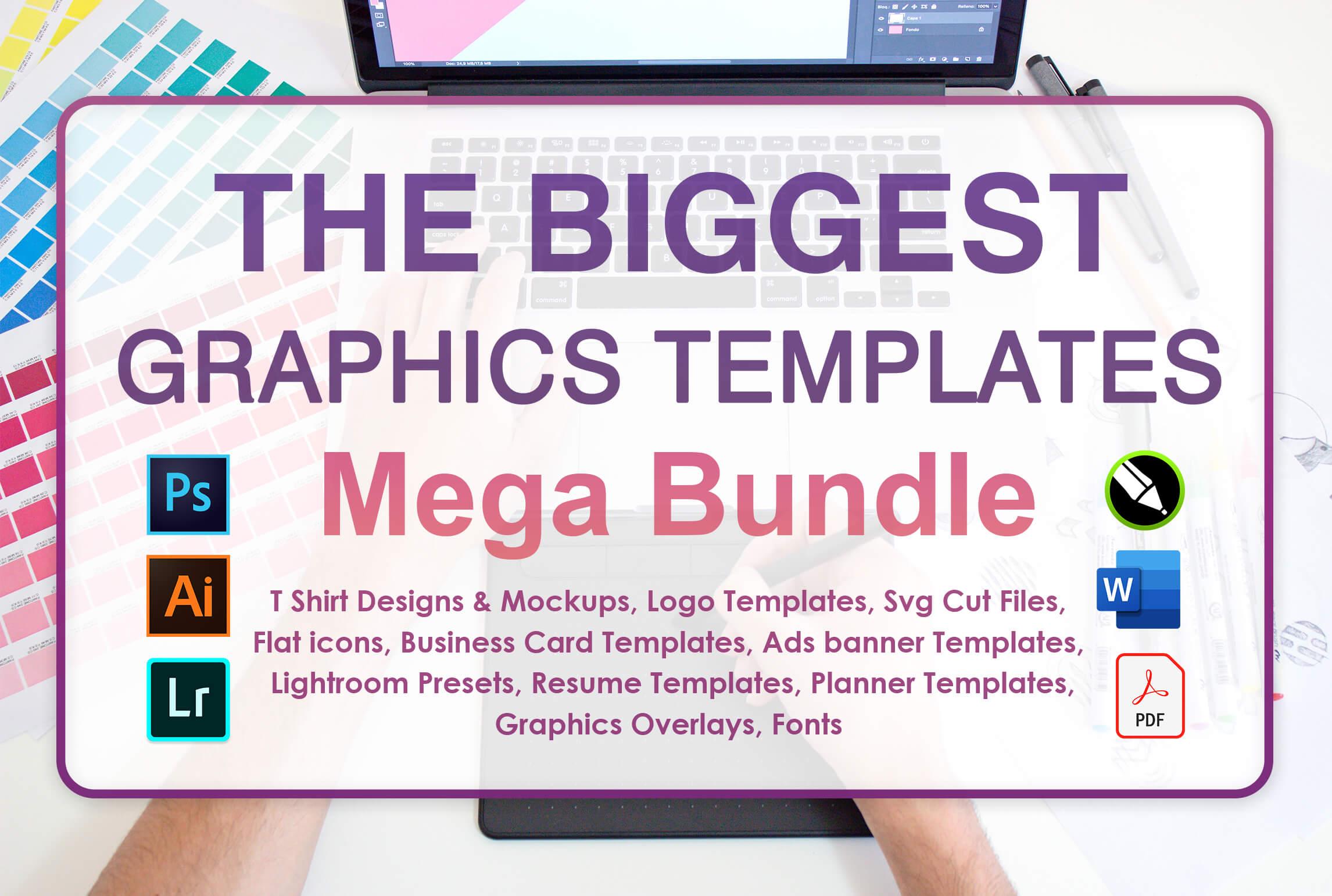 Graphics Templates Mega Bundle