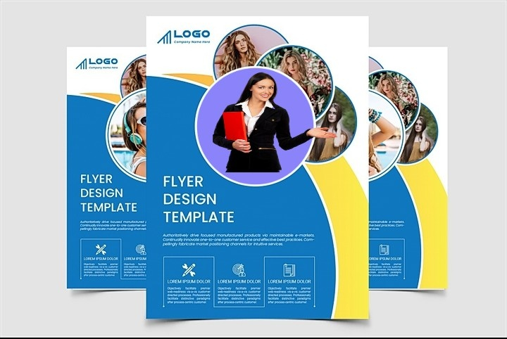 I will design church,  event or any other flyers