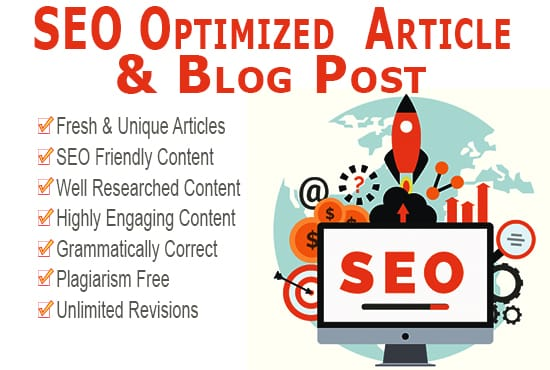 SEO optimized 800-1000 words long article,  blog post,  website content