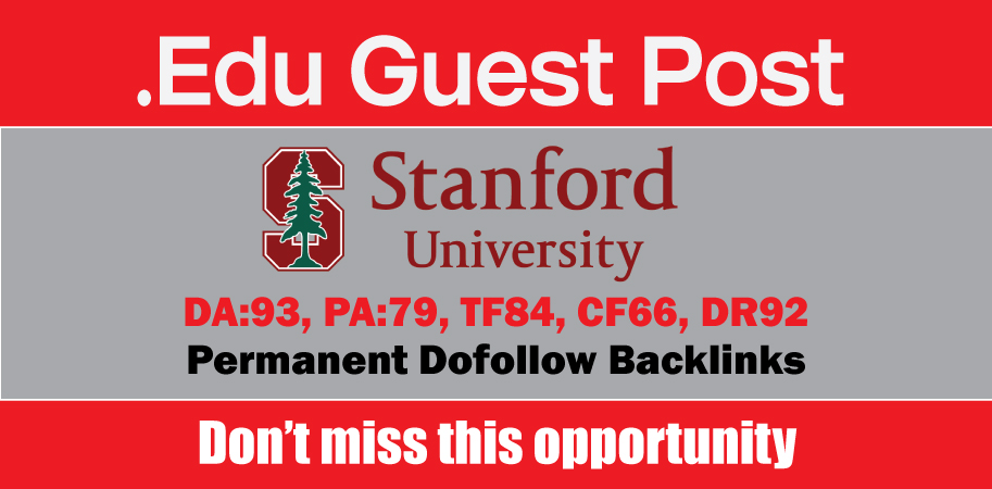 EDU Guest Post on Stanford DA93,  DR92 - DoFoIIow Link