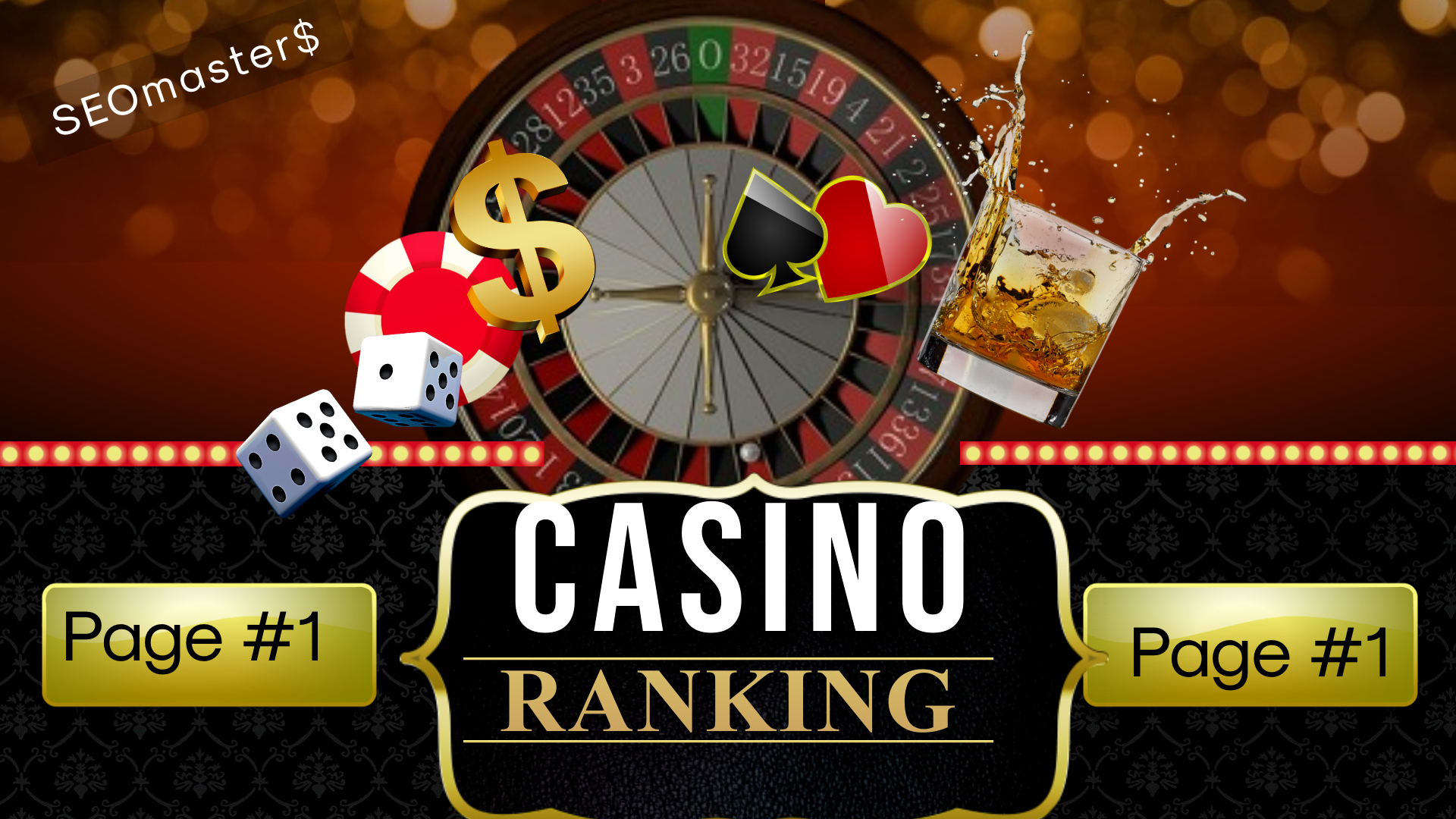 Rank Top 1st Page On Google Slot Online Agen Judi Bola Casino Poker Gambling Website with 2 Keywords