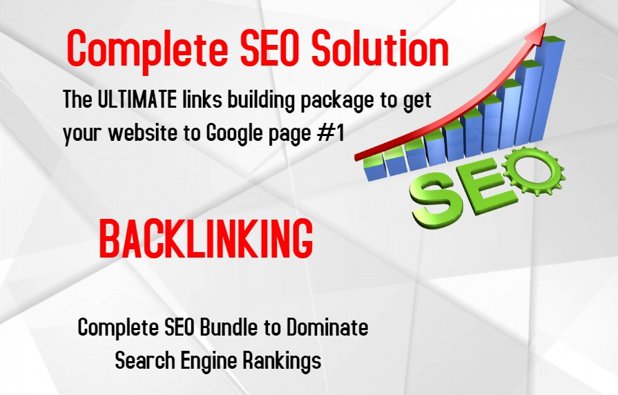 The ULTIMATE links building package to get your website to Google page 1