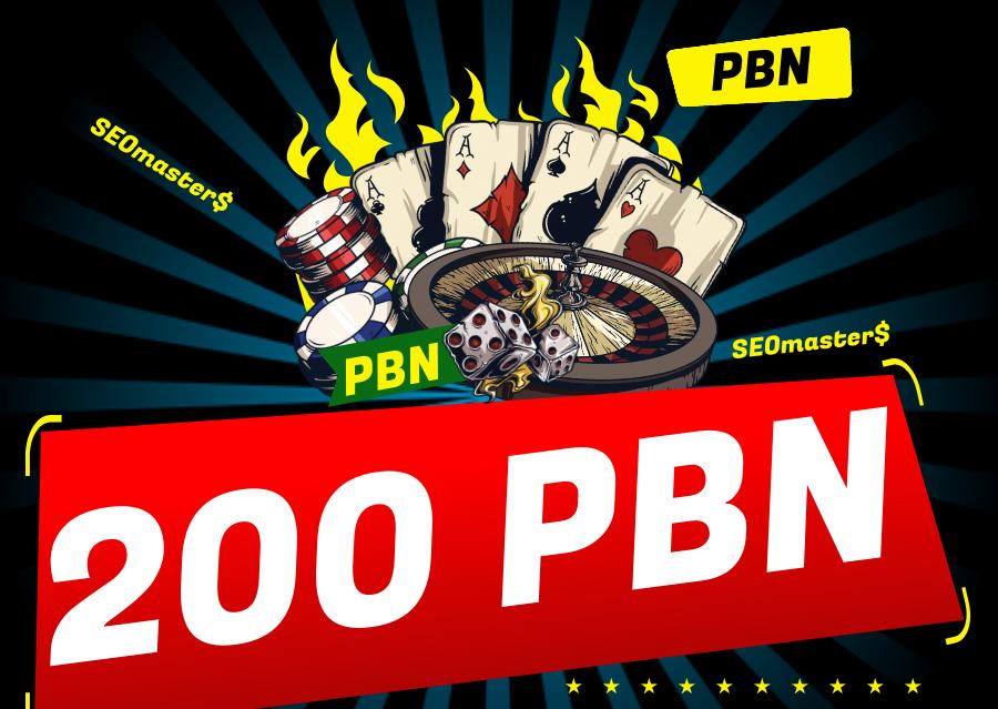 200 Super-strong Homepage PBN for gambling,  Casino,  Poker,  Judi Bola - Website Ranking