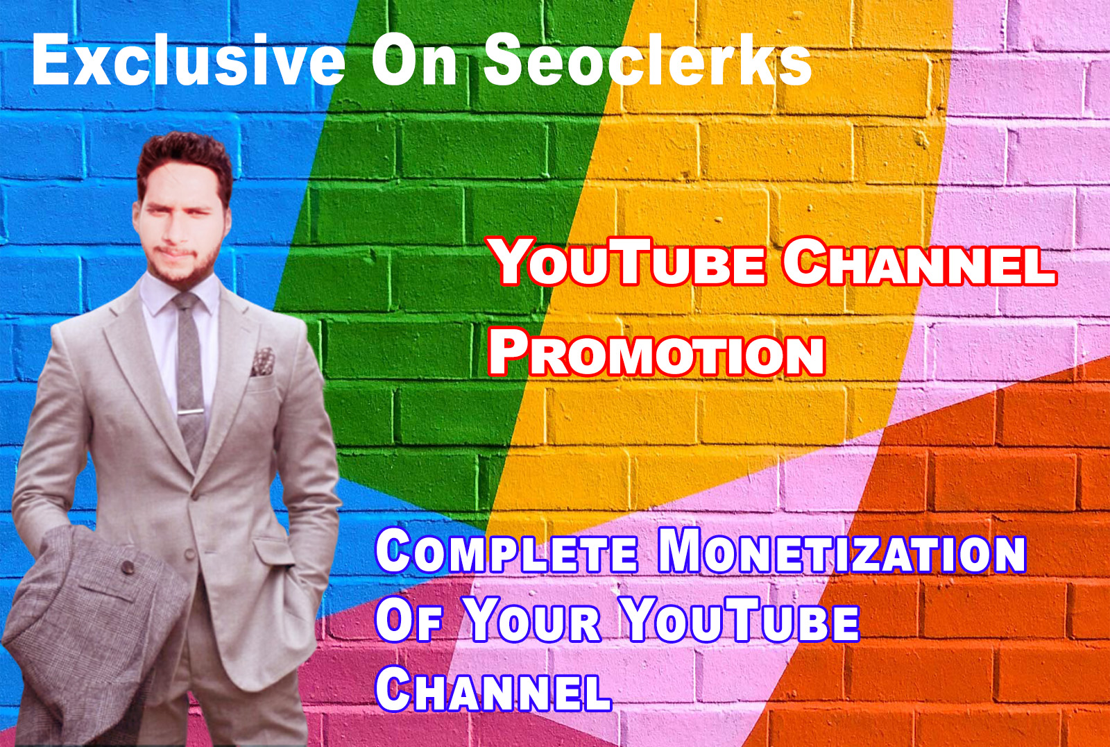 I Will do Complete youtube Monetization