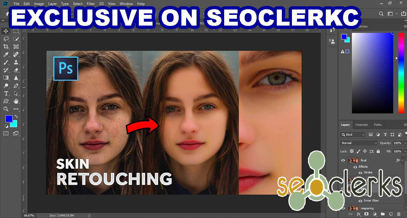 I will do professional skin retouching, headshots and images editing