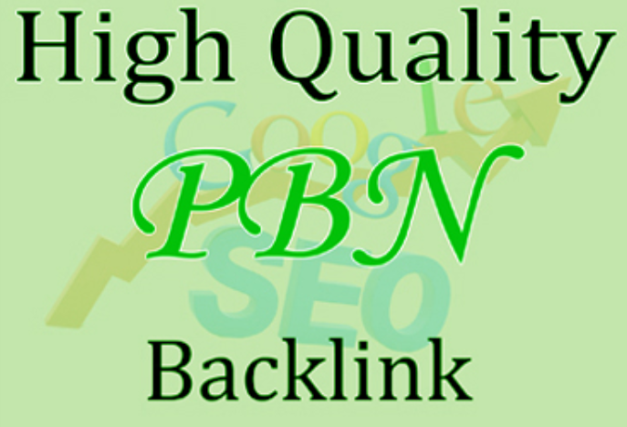 Build 10 PBN Backlinks High Quality Backlinks Dofollow