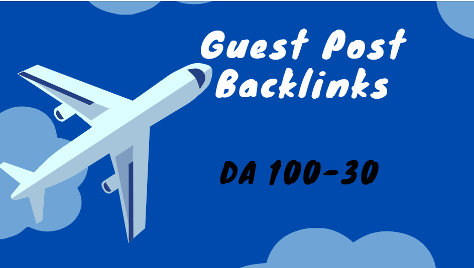 write and publish 10 high DA guest post On DA 100 to 30 Websites