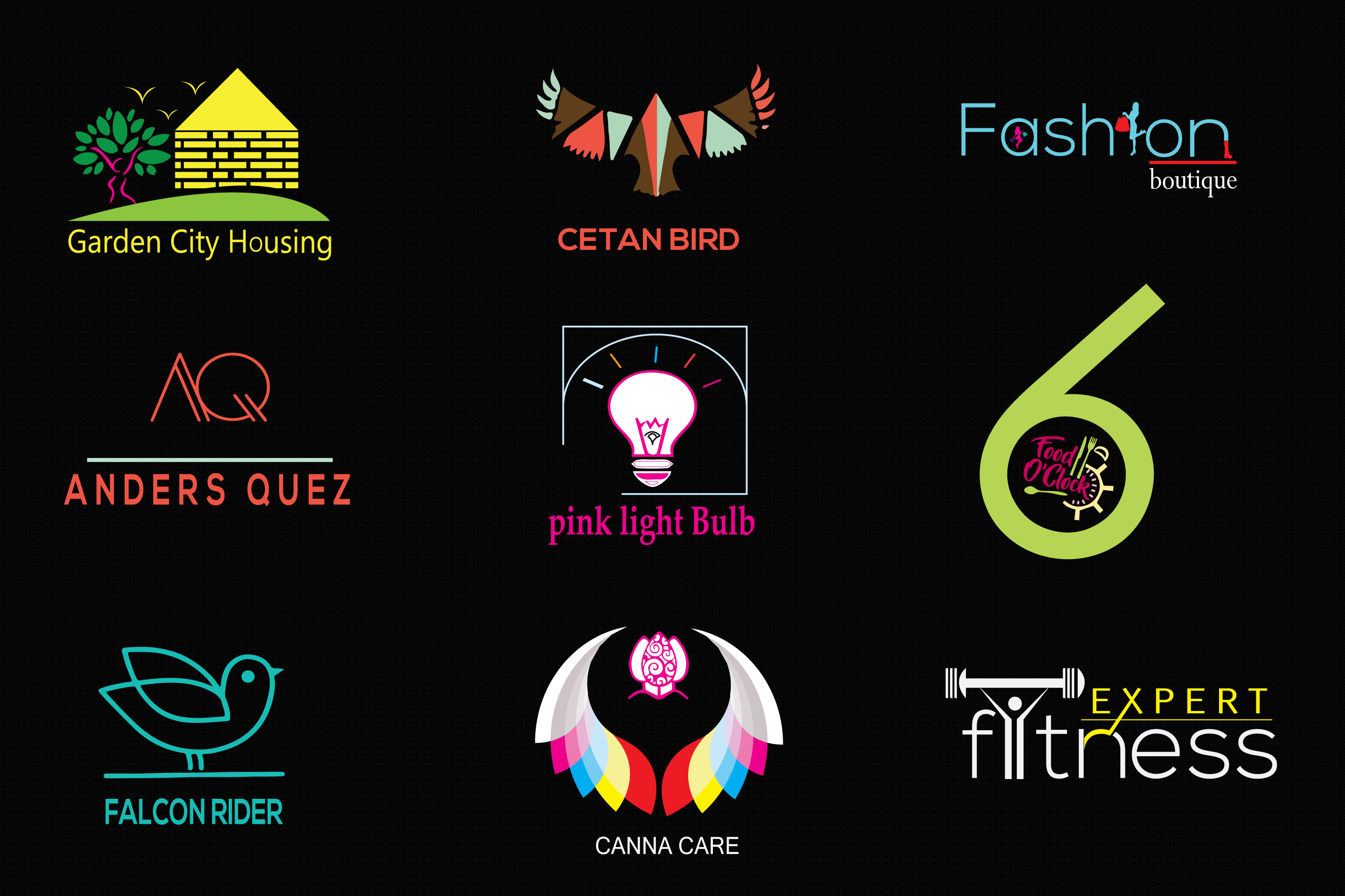 I Will Design Minimal and Font Logo Within 24 Hours