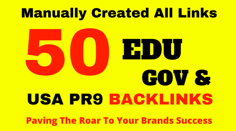 create 50 edu backlinks high domain authority