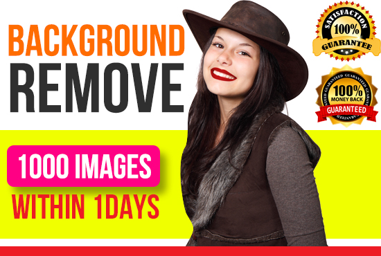 I will remove background from image to transparent or white 24 hrs