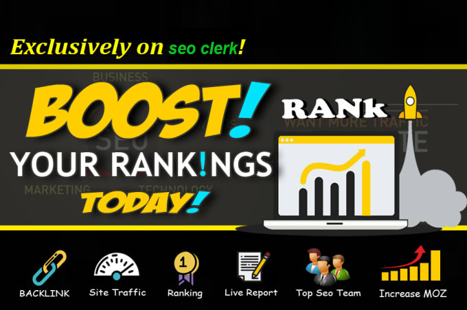 I will rank you first in google with 225 white hat manual SEO backlinks