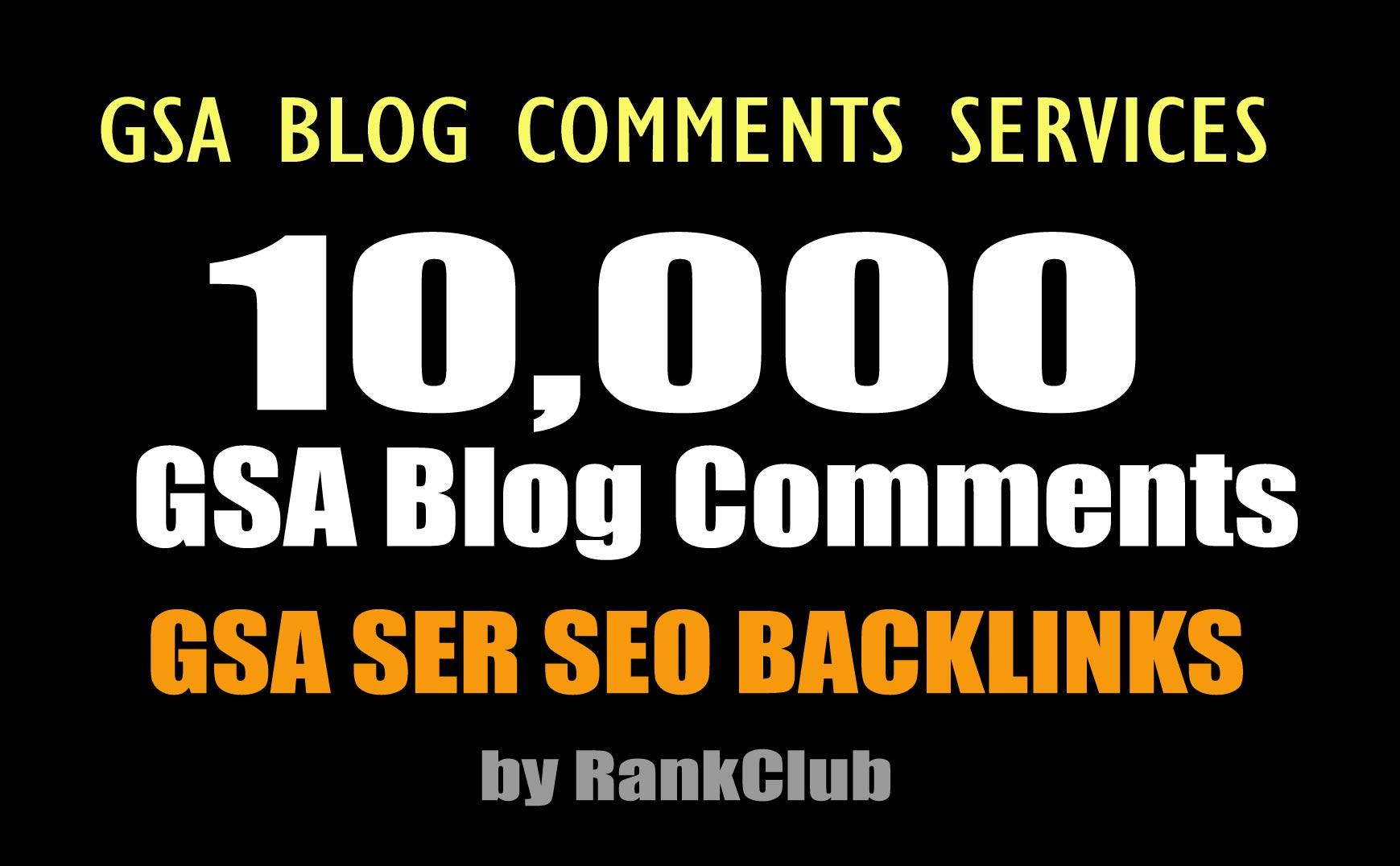GSA Blast GSA SER To Create 10,000 Blog Comments Backlinks