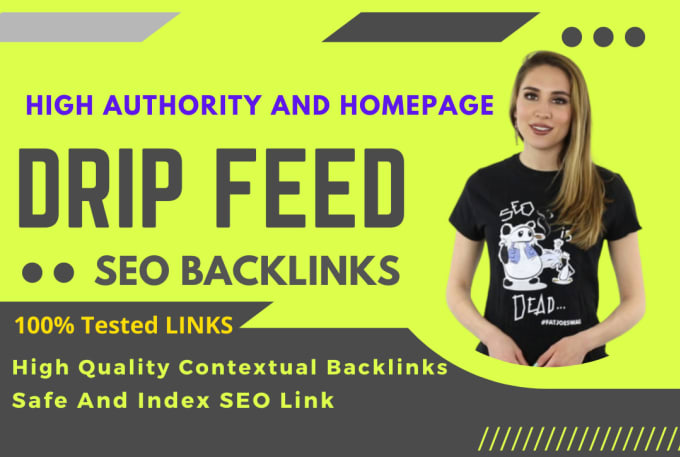 Create manual daily drip feed off page seo backlinks for google rank