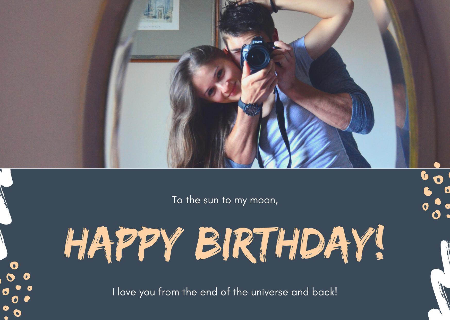 I will design 5 awesome birthday photos