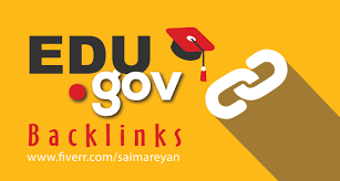Add unique manually 50 edu gov backlink fast delivery