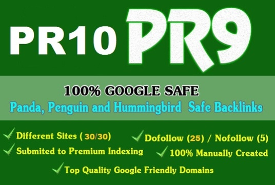 Boost your google ranking with 30 high pr10 authority pr9 seo backlinks
