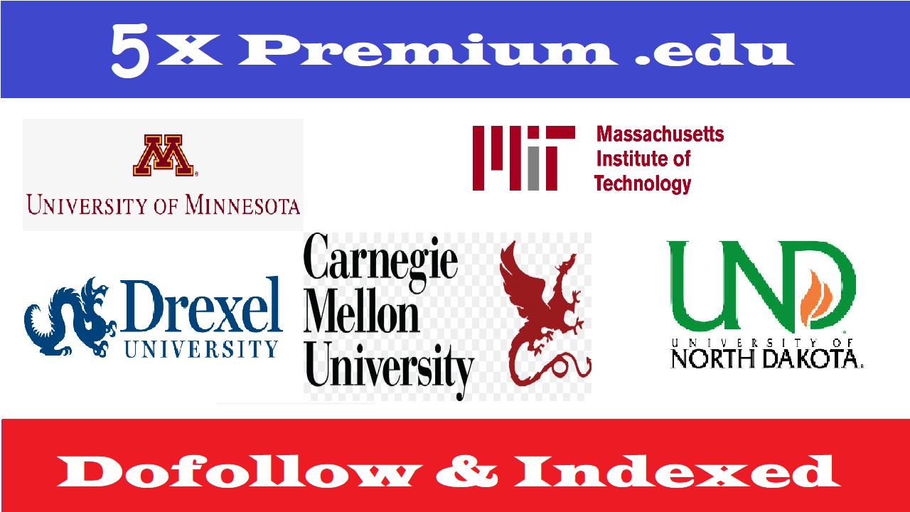 Write 5X Edu Guest Posts On Top Notch University DA70-95+