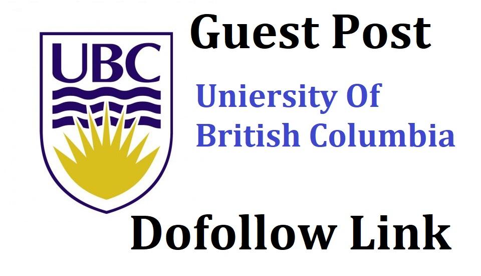 Guest Post On University Of British Columbia DA90