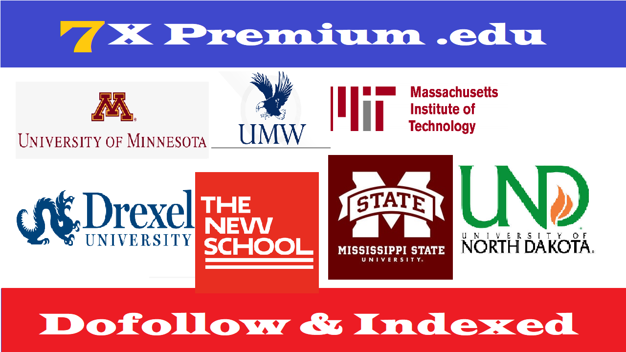 7X Edu Guest Posts On Top Notch University DA70-95+