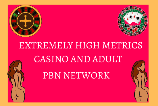 NOW RANK Your JUDI BOLA-CASINO-ADULT and Gambling sites with 50 DR and 50 DA PBN backlinks
