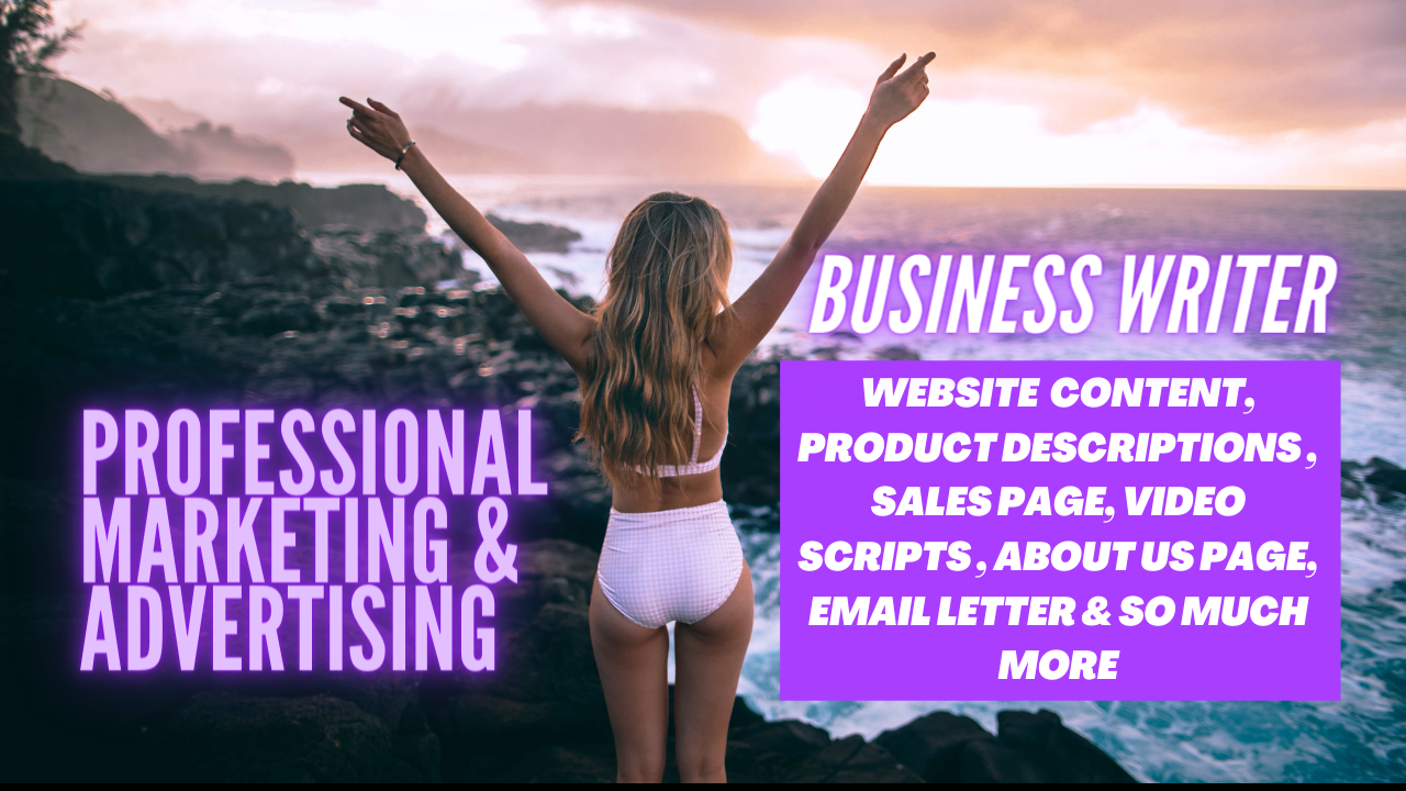 I will create unique sales,  ad,  and website copywriting