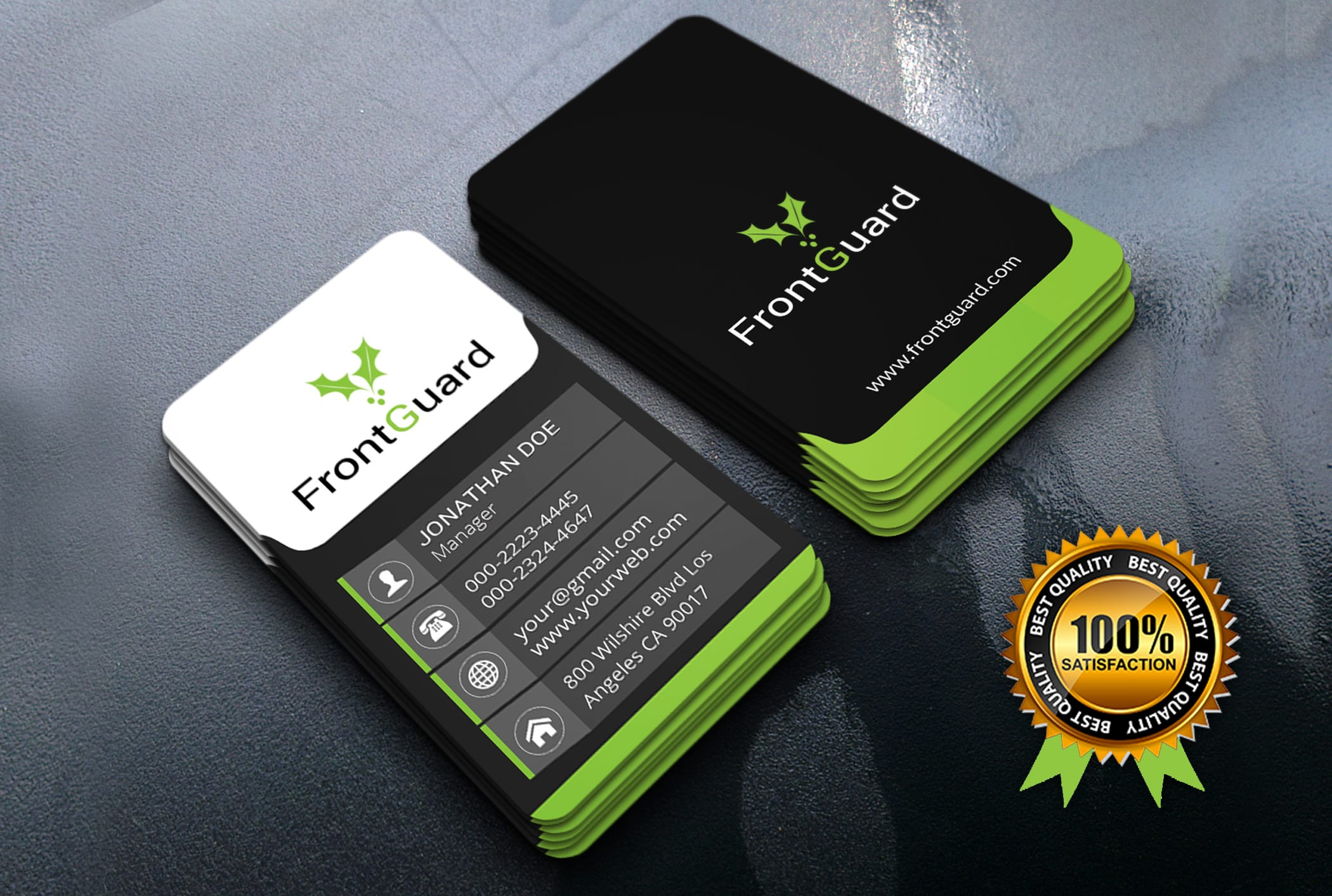 I will create your 2 different business card design concepts within 24 hours or less time