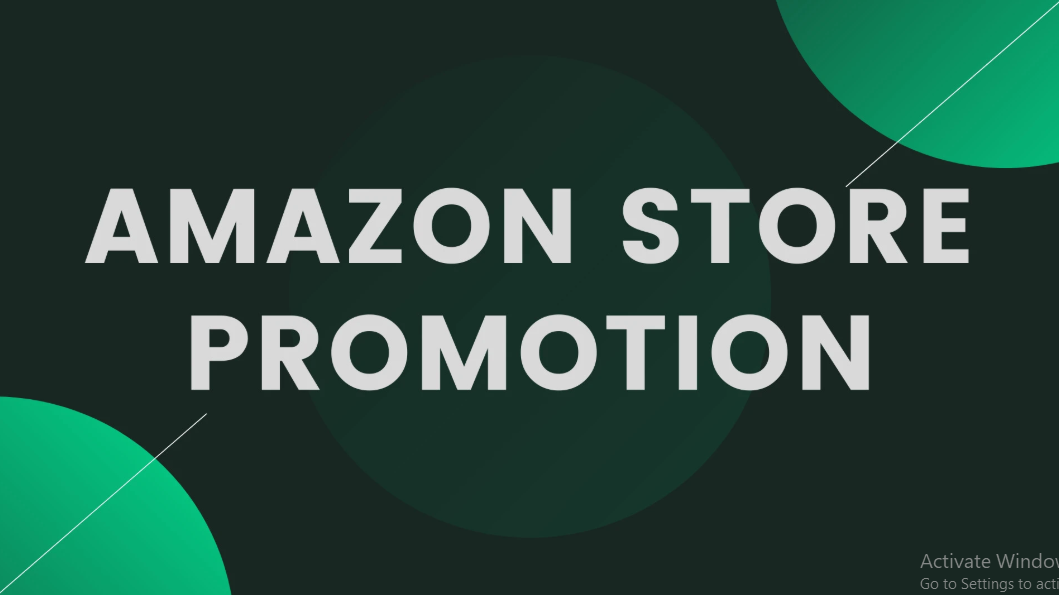I will do amazon store promotion to increase traffic