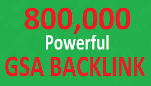 i Build 800,000 Gsa Ser backlink To improve Google Ranking