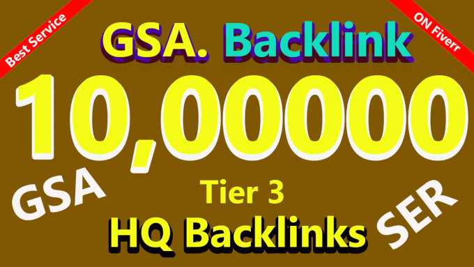 i Build 10,00000 Gsa Ser backlink To improve Google Ranking