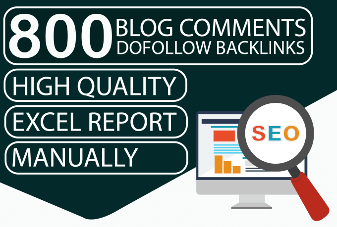 I will provide 800 dofollow blog comment with manual work