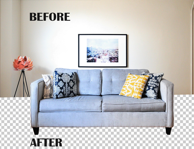 I will cut out or background removal 100 images