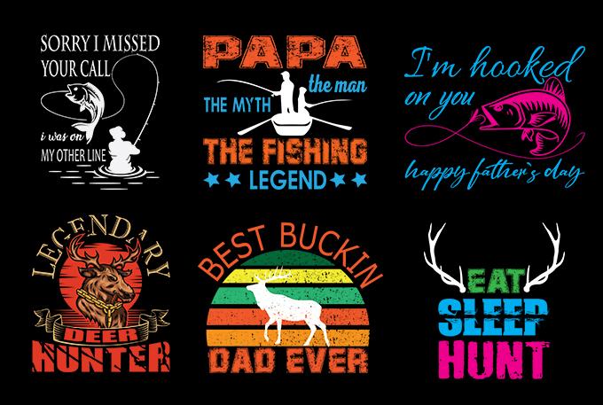 I will do bulk t shirt designs for merch and teespring
