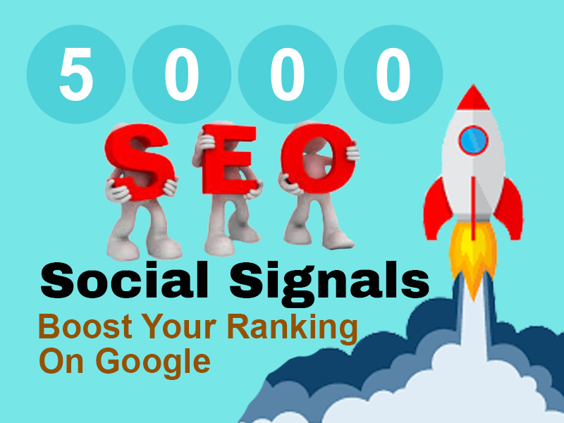 Manually Create 5000 Real PR-9 & 10 SEO Social Signals to Boost your Ranking on Google