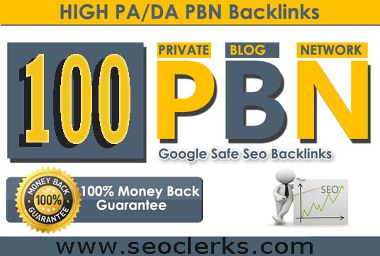 I Will Build 100 Manual High Authority PBN Backlinks