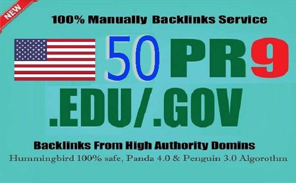 I will create 50 Manually PR9 Backlinks from SEO authority sites