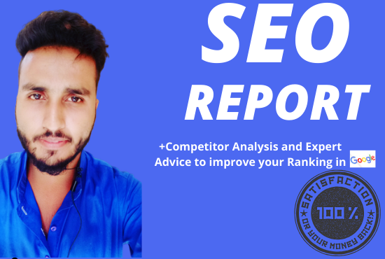 i will provide detailed SEO report with the expert advise