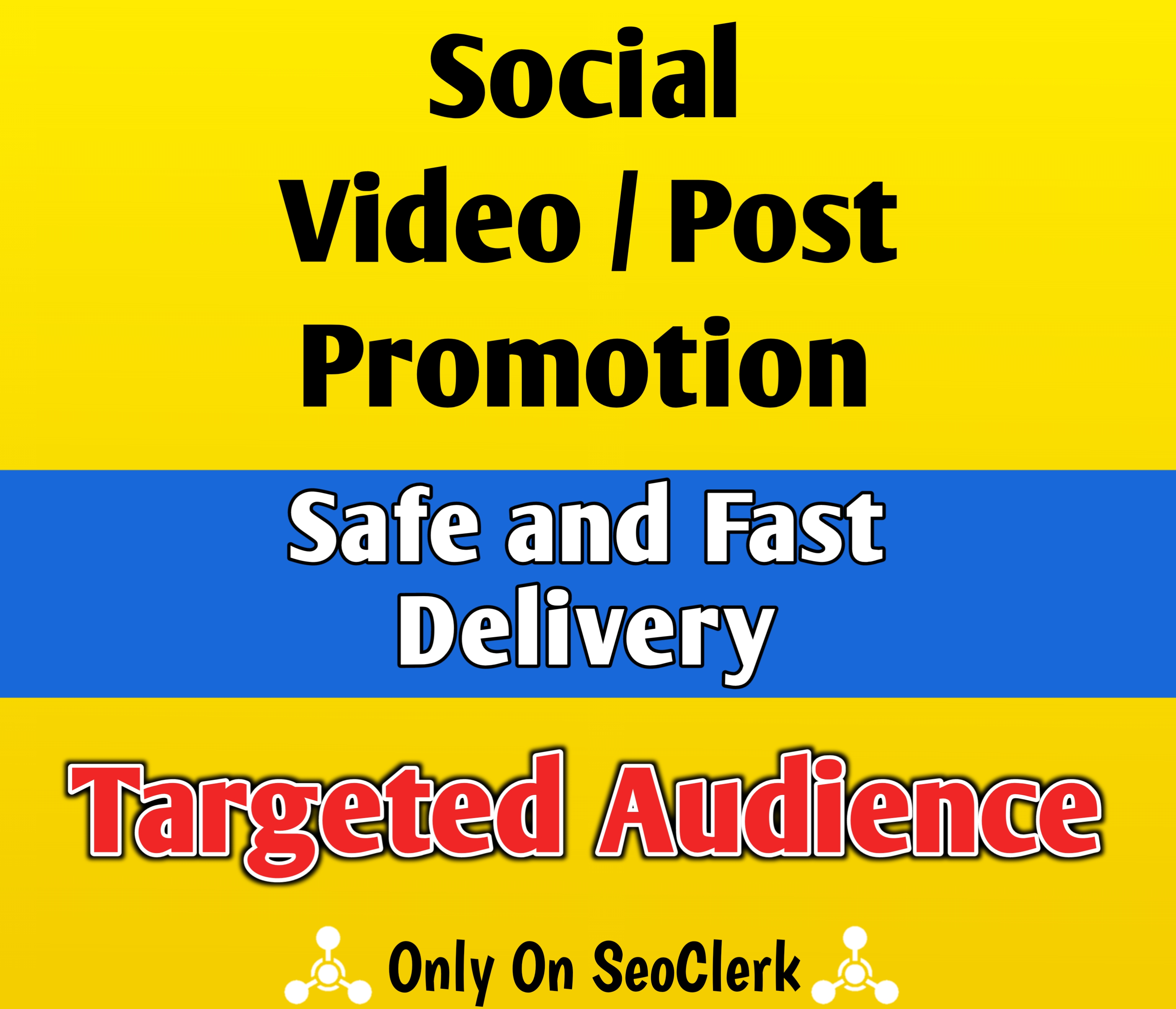 Promote Your Post Video By Real Targeted Social Audience