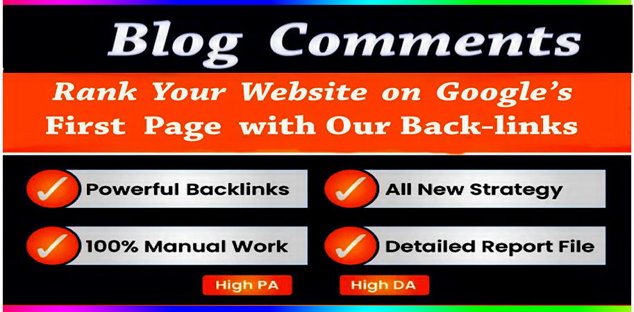 I will provide Spam score 10 below 40 high quality dofollow blog comments backlinks