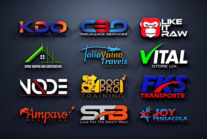Design modern business logo. I am experienced enough to design all types of logo designs.