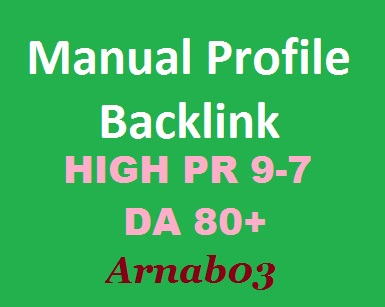 High Authority 20 Profile Backlink High DA 80+