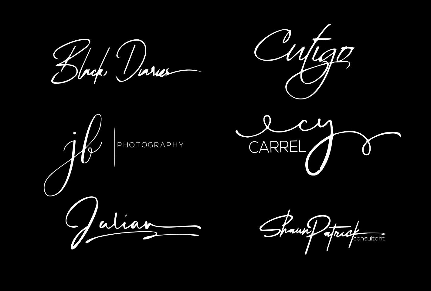 I will design modern signature logo in 24hrs