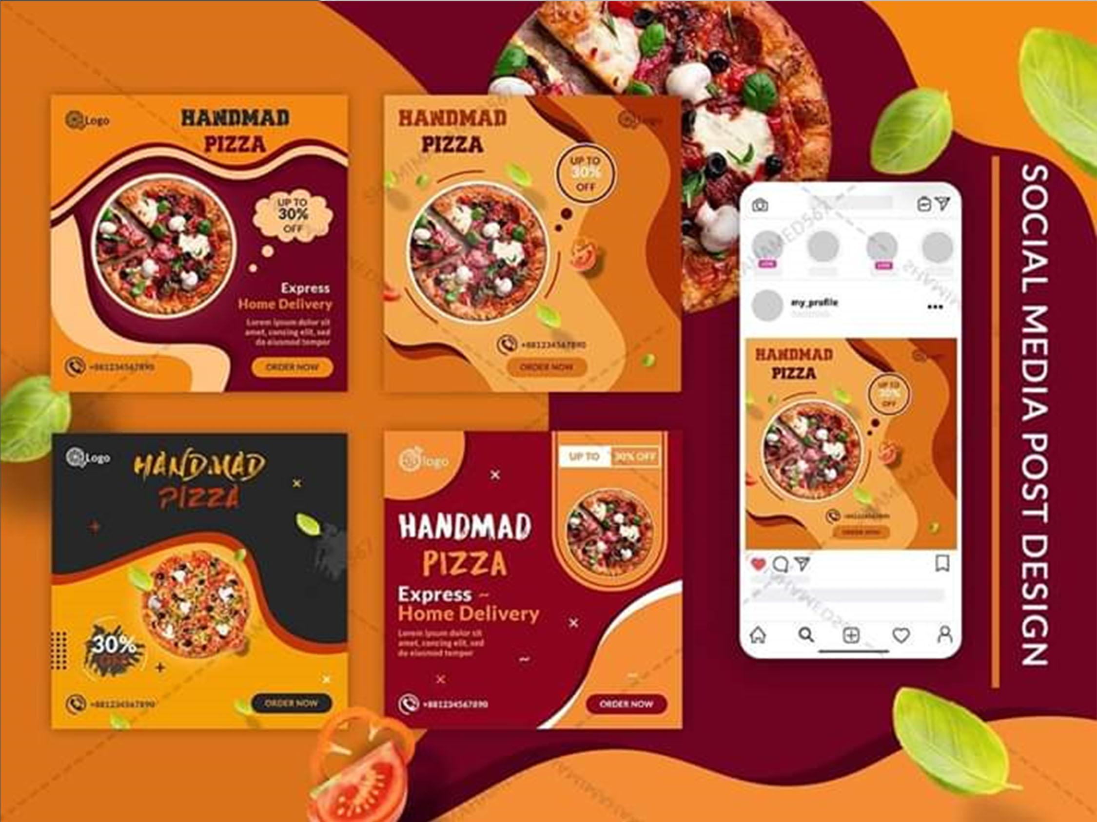 I will design web banner,  slider,  poster,  social media posts