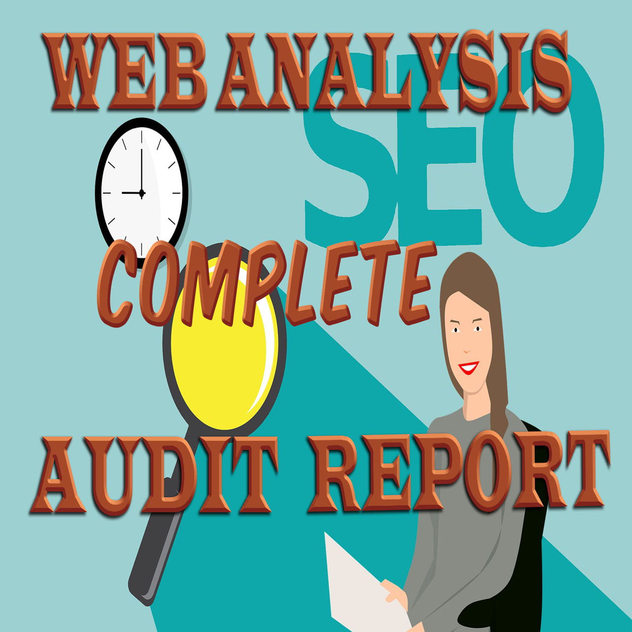I will provide complete website analysis SEO AUDIT REPORT