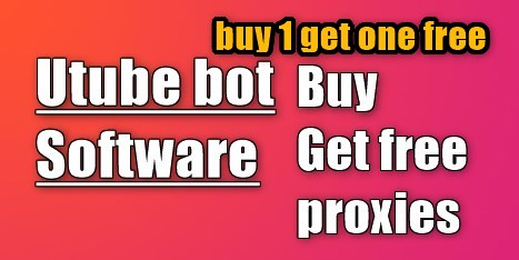 YouTube bot Software Promote YouTube video and rank on google get one free bot