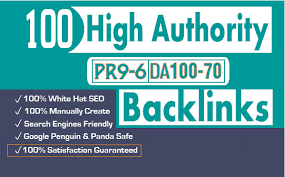 Do 100 high da USA pr9 profile backlinks manually